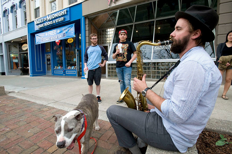 Tenor Sax Player in Ann Arbor
