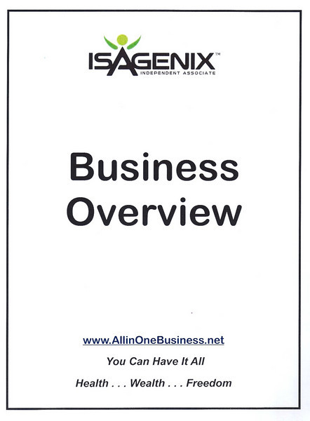 Isagenix Business Overview