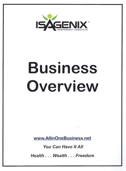 Isagenix Business Overview