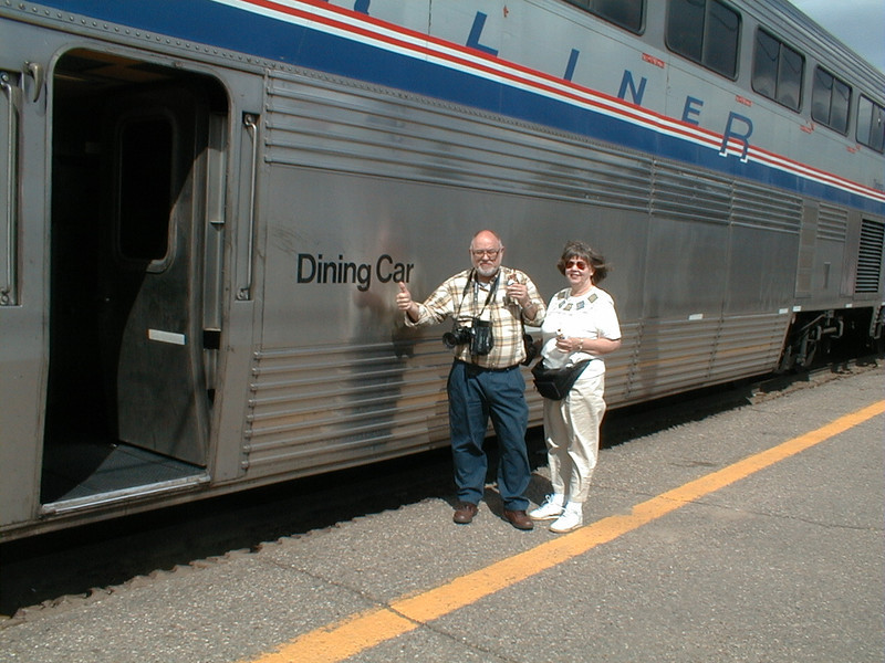 AMTRAK to Wenatchee, Seattle