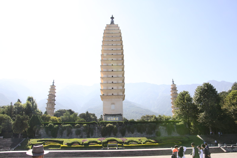 Chongshen Temple-Three Pagodas, Dali
