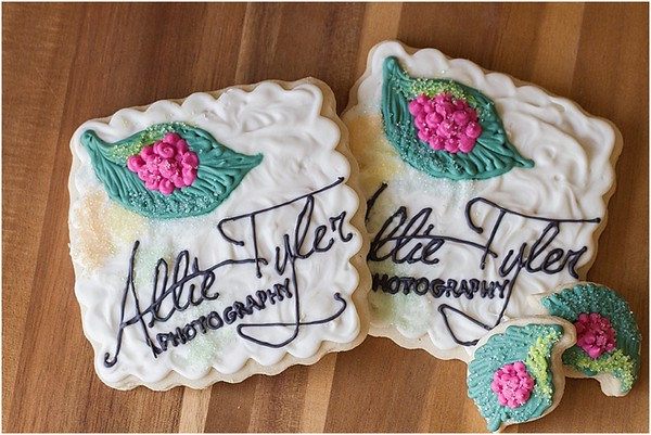 Custom Cookies by The Redbud Tree Bakery