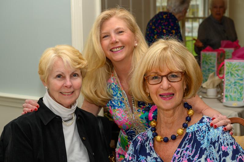 Pat McKinley, Robin Rush, Kathie Curran