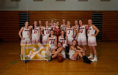 Westby girls' basketball GBB1819