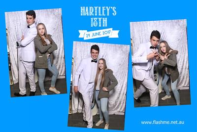 Hartley's 18th - 24 June 2017
