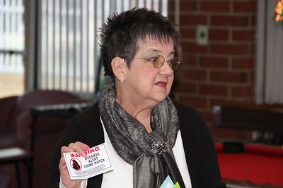 Business Crime Watch Stickers, Chamber Mixer, ABC Hi Rise, Tamaqua (2-28-2013)