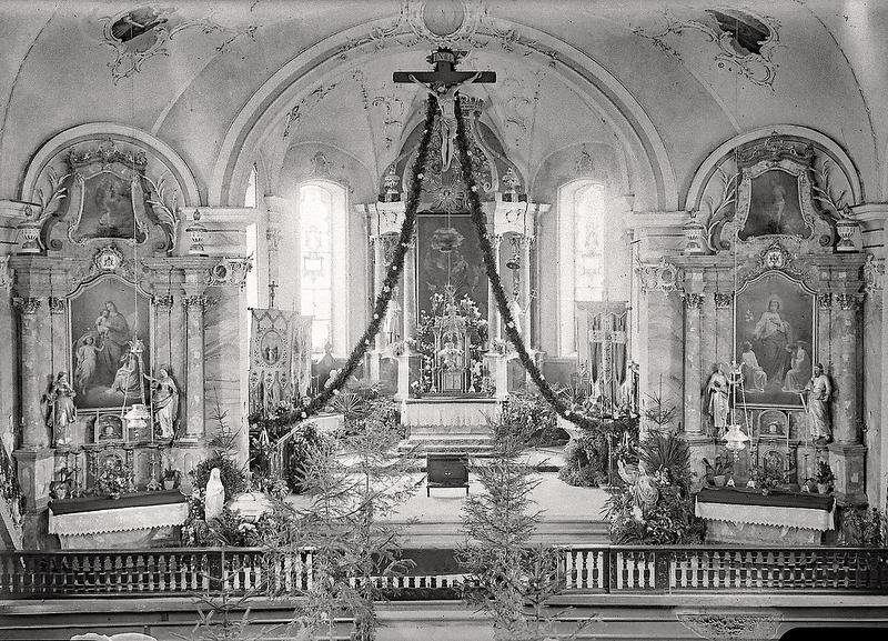 149a Altishofen Kirche geschmückt 1924.png