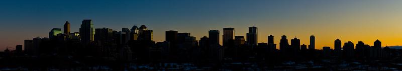 Skyline In Silhouette