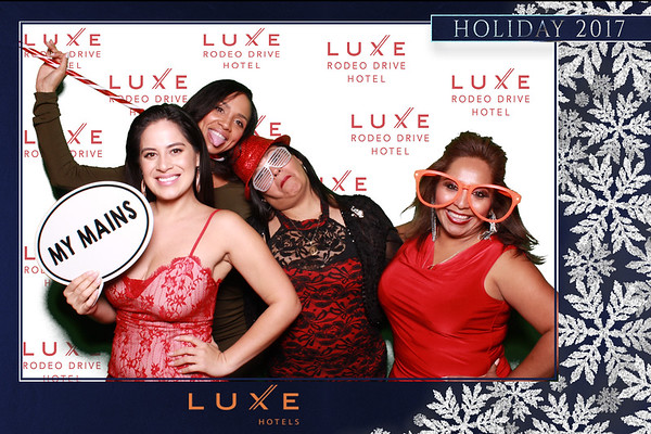 12.14.2017 Luxe Beverly Hills Holiday Party