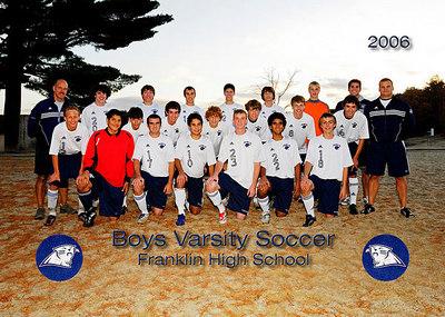 FHS Boys Varsity Soccer 2006