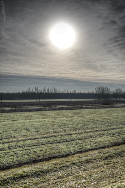 Winter Sunrise - Sant'Agata Bolognese, Bologna, Italy - December 29, 2012