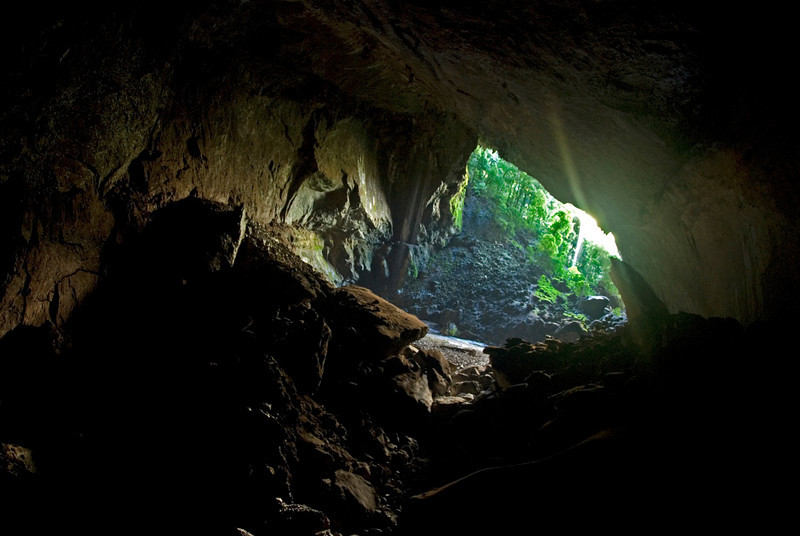 Garden of Eden Entrace at Deer Cave in Mulu National Park - Sarawak, Malaysia