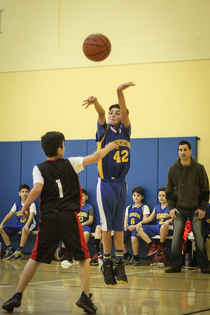 Anunciation Basketball, March 2018