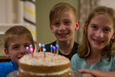 Cory, Ella, Kelen 9th Birthday Weekend