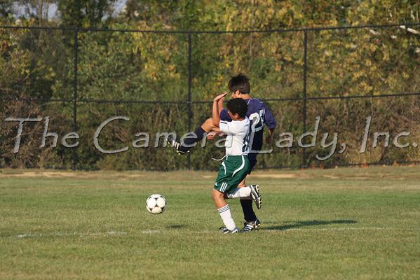 CHCA 2008 MS Boys Soccer vs Walnut Hills 09.23