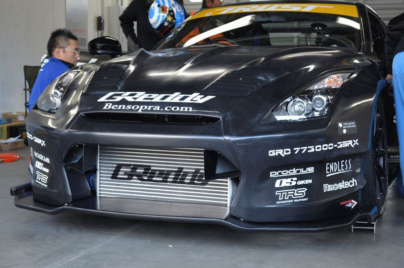 greddy 35rx front