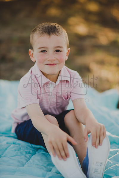 Brecken 5 Year and Easter Pics