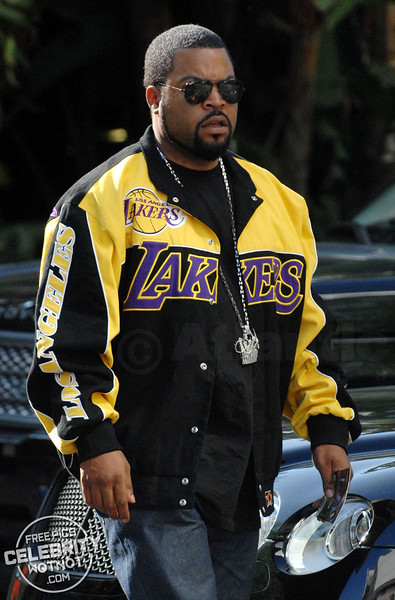 Ice Cube arrives at the LA Lakers For Game 1 Of The NBA Finals