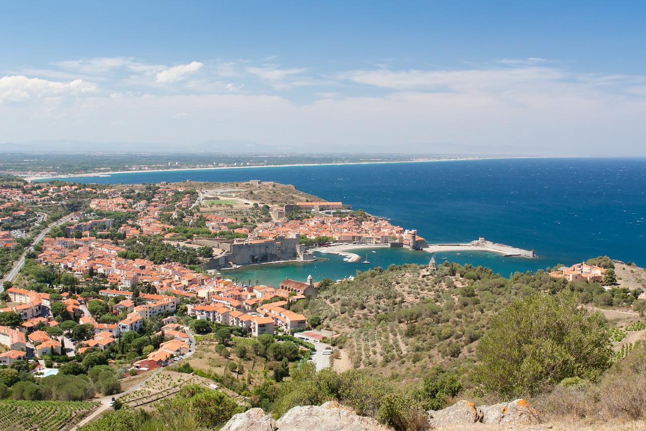 Mediterráneo, Collioure cerca de la salida