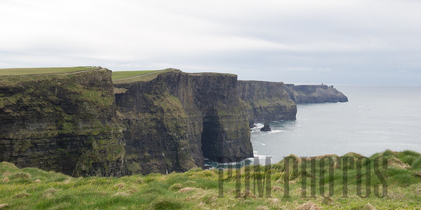 Lahinch and Cliffs of Moher, County Clare, Ireland 04-01-2014
