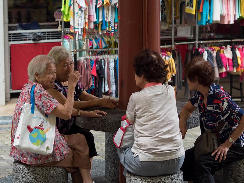 Women in Chinatown