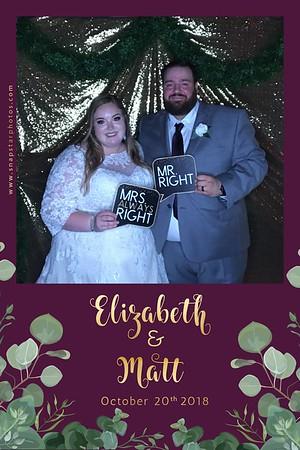 2018-10-20 Elizabeth+Matt