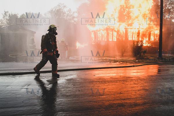 Cedar Street Fire