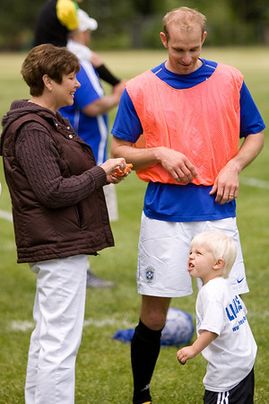 Carman-Ainsworth Alumni Soccer Reunion Game --May 19, 2007 --