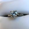 0.78ct Round Brilliant Diamond Bridal Set by Cartier 74