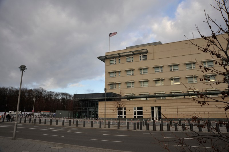 The American Embassy