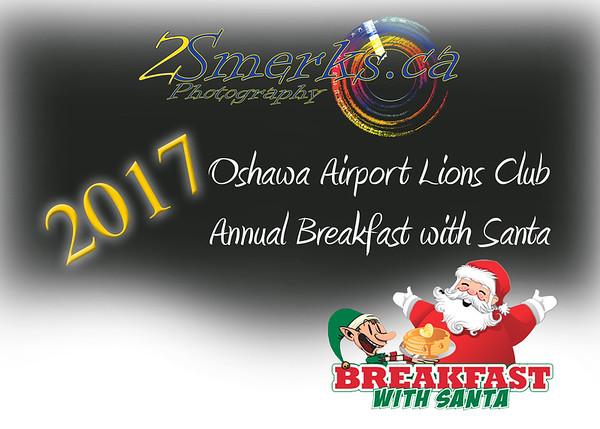 Oshawa Airport Lions Club - Annual Breakfast with Santa 2017
