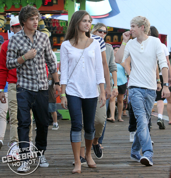 EXC: One Direction Enjoy Hair Raising Afternoon on Santa Monica Pier!