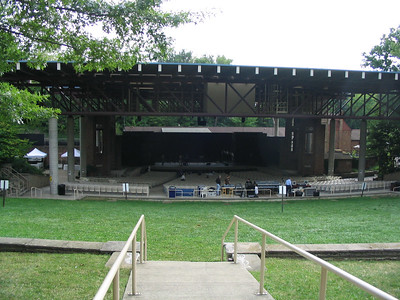 040814 Cleveland Heights OH Cain Park Evans Amphitheater Gig