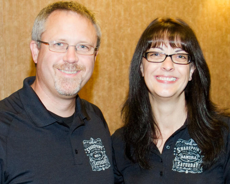 Bill English and Sandra Mahan