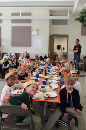 CHCA 2012 EBL Kindergarten Thanksgiving Feast 11.19