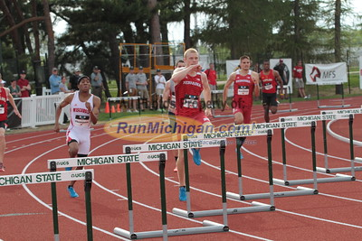 400M Hurdles Men Prelims - 2015 Big Ten Outdoor T&F Championships