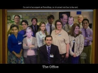 the office conflict resolution photoshop wallpaper