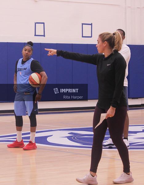 Atanta Dream WNBA Practice - Atlanta, GA | 05.30.2019