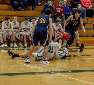 Set nine: Boys JV Basketball v Annie Wright 01/11/2019