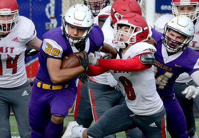 Photos: Denver East at Boulder High Football