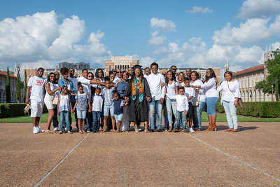 Marjada Tucker Rice University Graduation (Print)