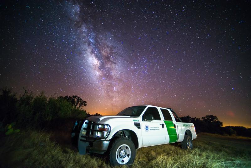 Border Patrol Milky Way