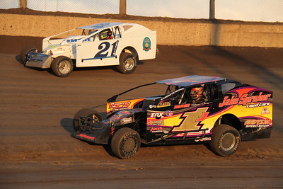 King of Dirt Sportsman-Lebanon Valley Speedway-Bill McGaffin-8/25/15