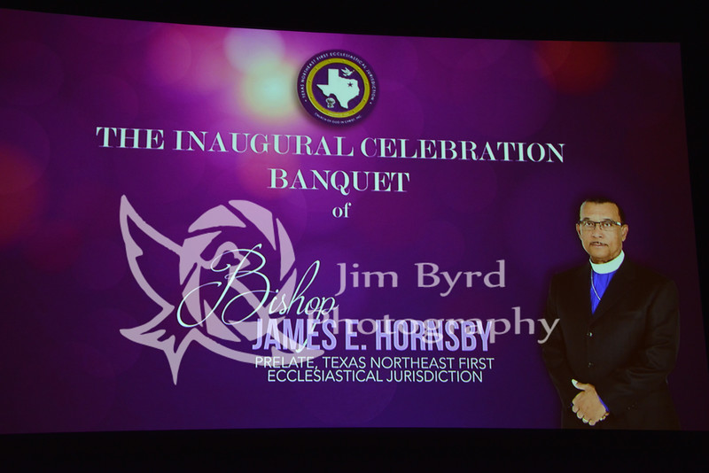 Banquet of Bishop James E Hornsby