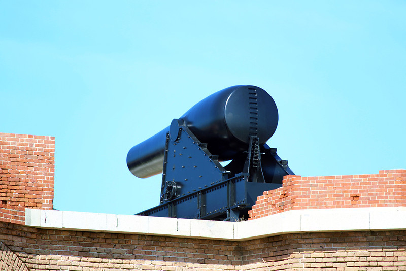 One of the Fort Jefferson canon