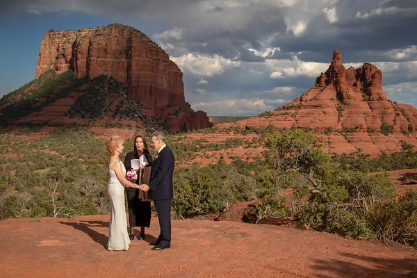 Gordon & Kay's Sedona Wedding