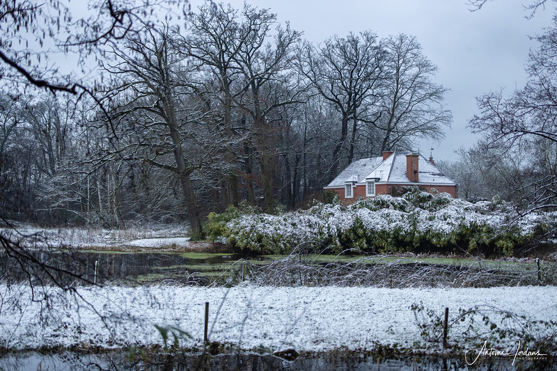 Snow at Castle Maurick