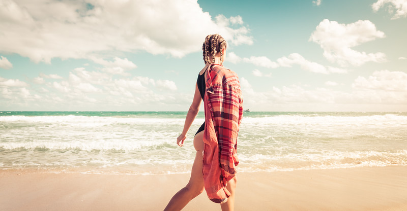 Katie Ann on the Beach