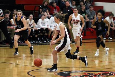 Girls' Basketball vs. CVCA