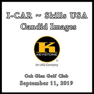 I-CAR ~ SKILLS USA Golf Candid Images Sept. 11, 2019